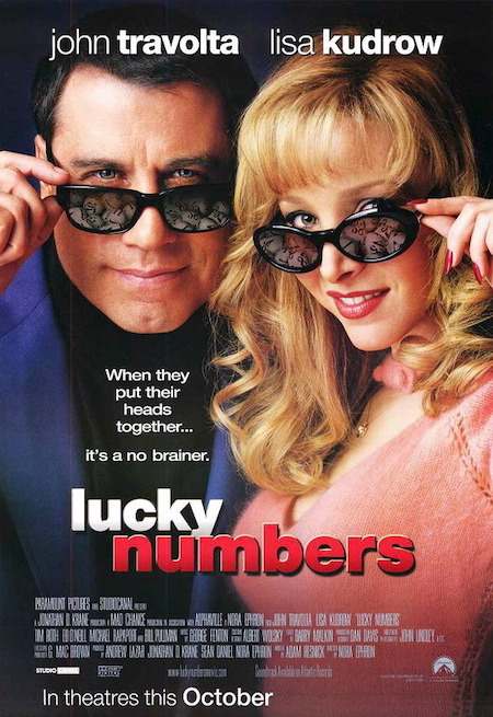 LUCKY NUMBERS (2000) movie poster