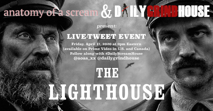 Live-Tweet THE LIGHTHOUSE (2019) date and time and info