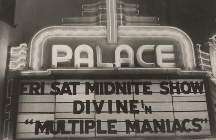 MULTIPLE MANIACS (1970) marquee