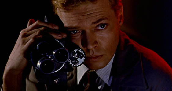 PEEPING TOM (1960) Karlheinz Bo?hm is the Man With The Camera