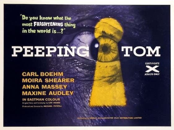 PEEPING TOM (1960) movie poster