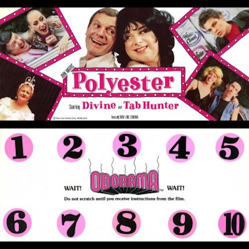 POLYESTER's Odorama card