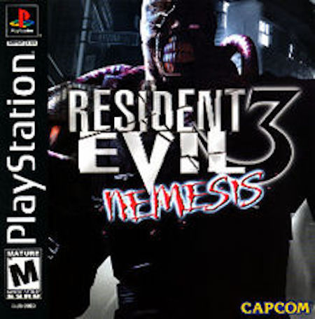 Resident Evil 3 original cover