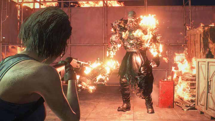 Resident Evil 3 remake i am the god of hellfire