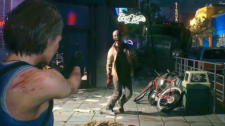 Resident Evil 3 remake vs zombie buskers