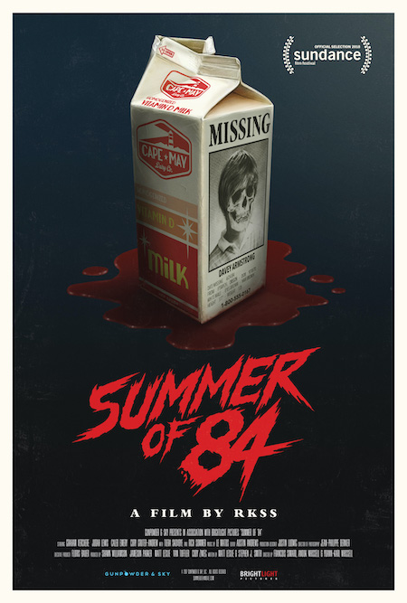 SUMMER OF 84 (2018) movie poster