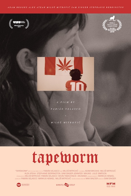 TAPEWORM (2019) movie poster