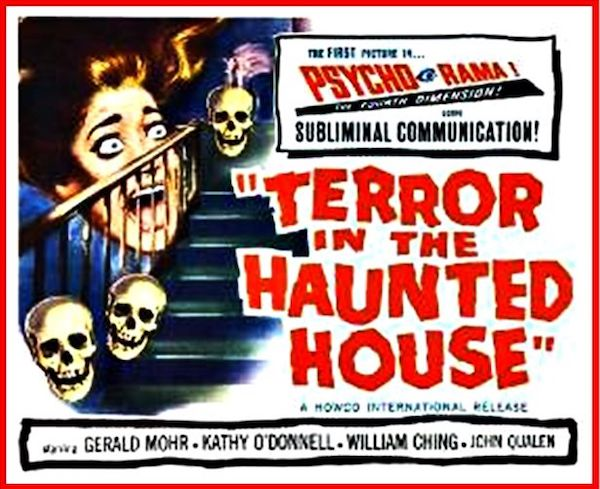 TERROR IN THE HAUNTED HOUSE Psychorama