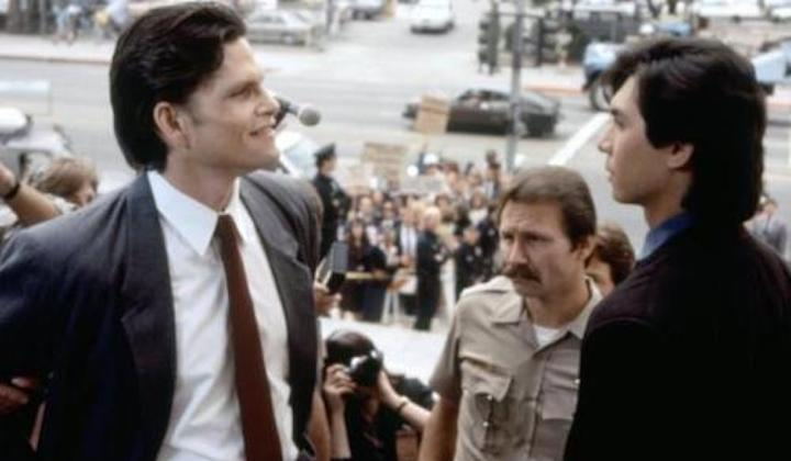 THE FIRST POWER (1990) Jeff Kober and Lou Diamond Phillips refuse to see 1998's FALLEN