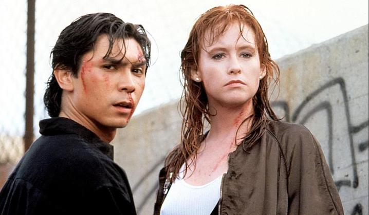 THE FIRST POWER (1990) Lou Diamond Phillips and Tracy Griffith