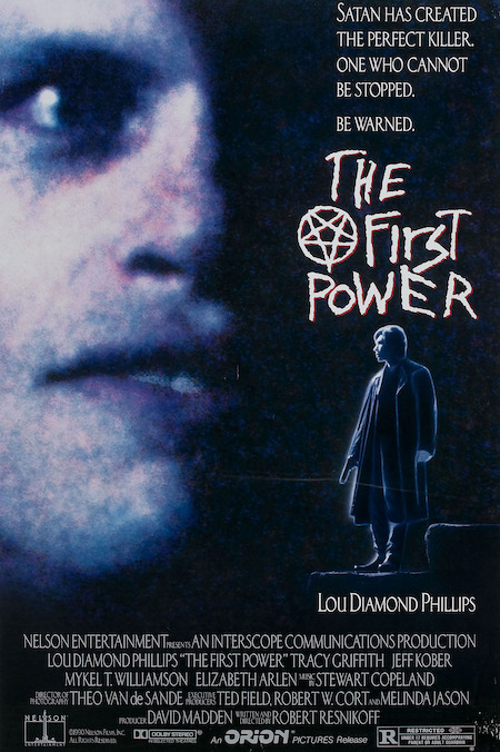 THE FIRST POWER (1990) movie poster A