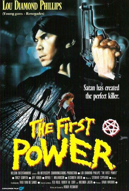 THE FIRST POWER (1990) movie poster B