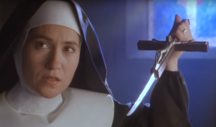 THE FIRST POWER (1990) why are nuns so strict?
