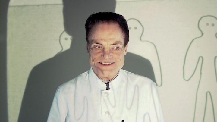THE HUMAN CENTIPEDE (2010) Dieter Lasser's plan is beautiful in its simplicity
