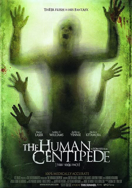 THE HUMAN CENTIPEDE (2010) Movie Poster A