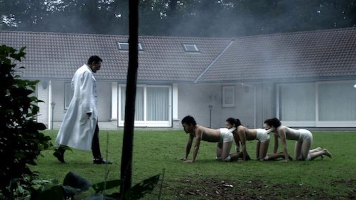 THE HUMAN CENTIPEDE (2010) goes for walkies