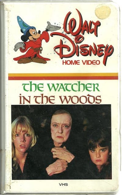 THE WATCHER IN THE WOODS (1980) VHS