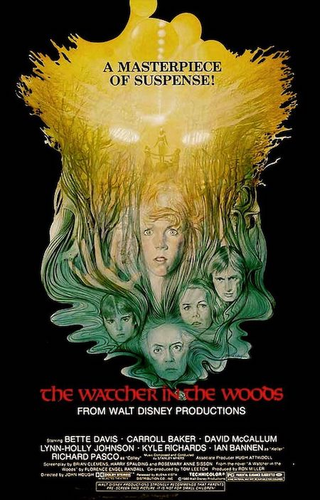 THE WATCHER IN THE WOODS (1980) movie poster A