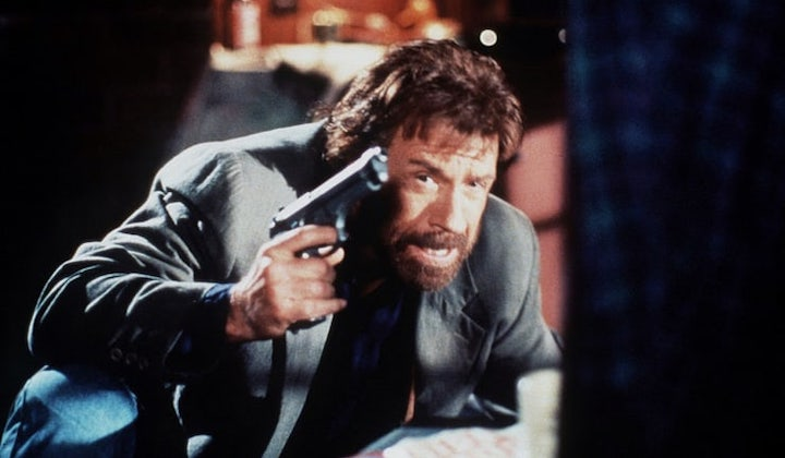 TOP DOG (1995) Chuck Norris