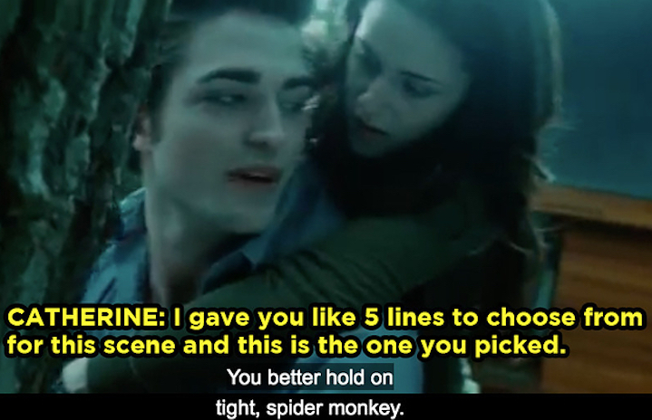 Catherine Hardwicke and Robert Pattinson on TWILIGHT's commentary