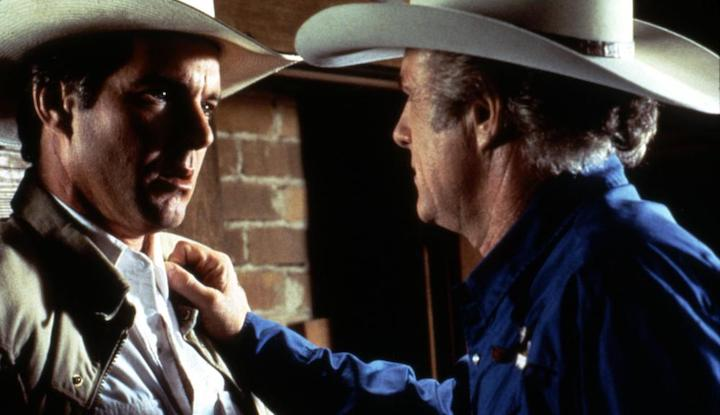 FLESH AND BONE (1993) Dennis Quaid and James Caan