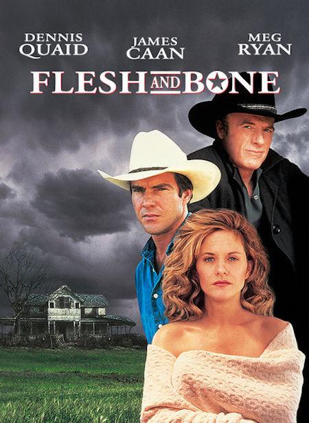 FLESH AND BONE (1993) movie poster 2