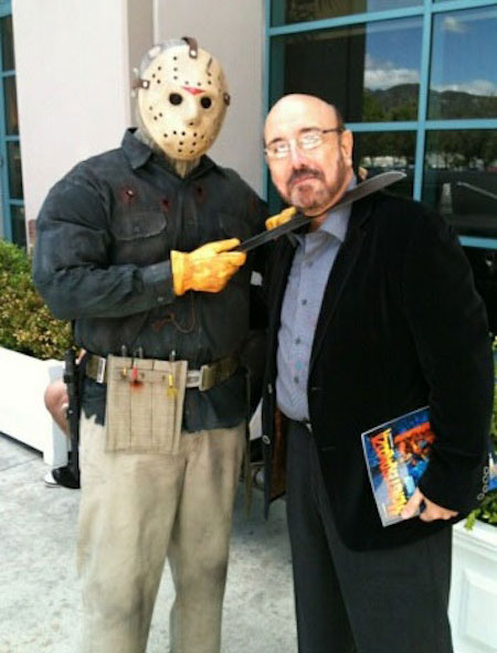 FRIDAY THE 13TH composer Harry Manfredini meets a fan