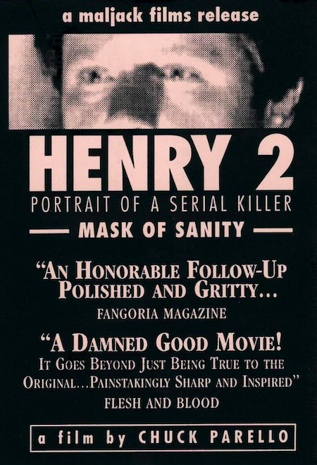 HENRY PORTRAIT OF A SERIAL KILLER 2 (1996) ad