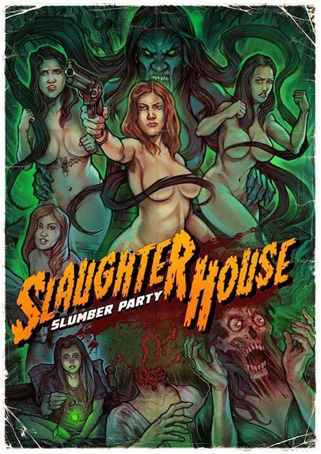 SLAUGHTERHOUSE SLUMBER PARTY (2019) movie poster 1